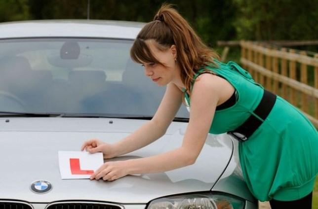 Learner driver, women