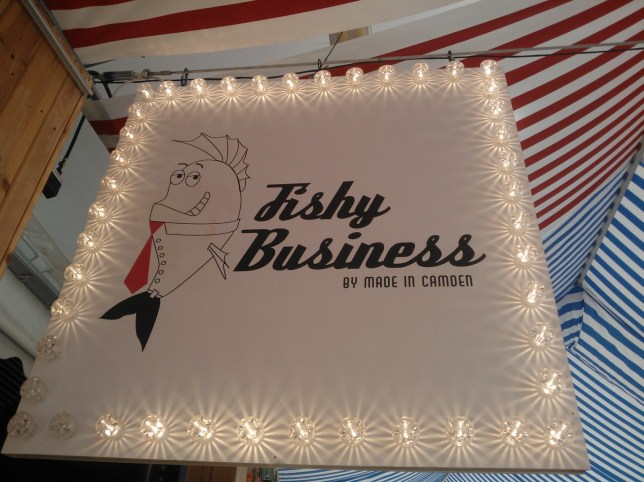 Fishy Business in Camden (Picture: Jacqui Faiman)