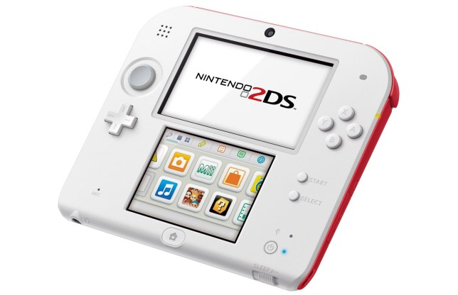 2DS – at least you can't say you're fed up of the hype