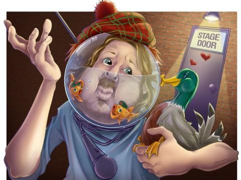 Richard Herring: Me, Edinburgh Fringe and a ducky menage a trois