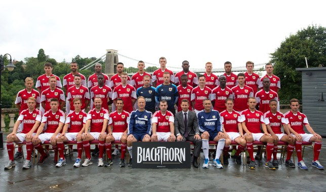 Bristol City Photo Call 310713