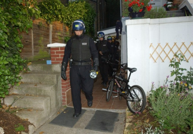 Nearly 140 suspected illegal immigrants have been arrested in a series of overnight raids across the country.