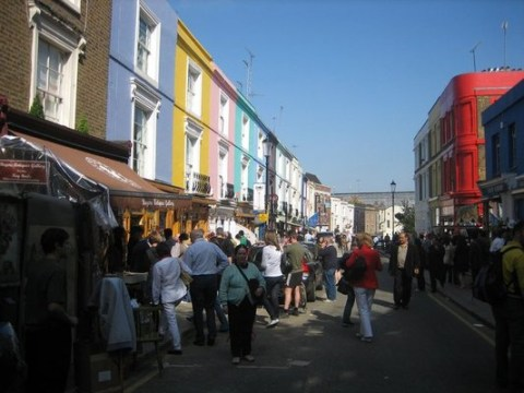 Top 5 reasons to fall in love with Notting Hill