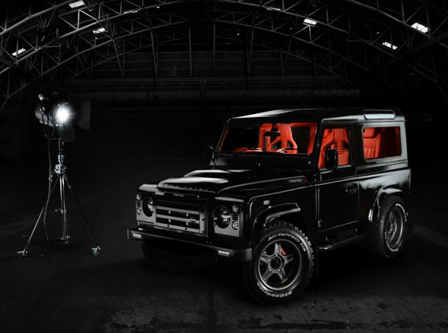 Twisted Performance Land Rover Red Edition