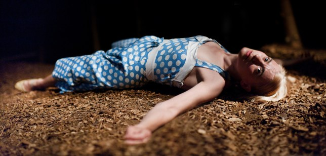 Sophie Bortolussi in The Drowned Man: A Hollywood Fable (Photo: Pari Naderi)