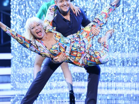 Denise Welch's disco jumpsuit raises viewer eyebrows as Stepping Out makes ITV debut