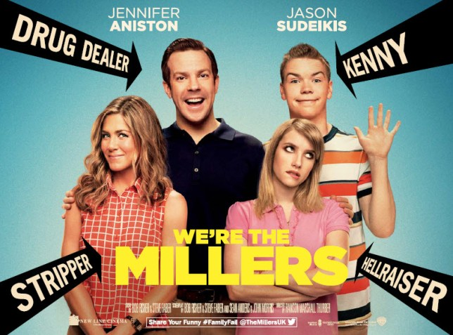 Jennifer Aniston is expected at the UK premiere of We're The Millers (Picture: Warner Bros)