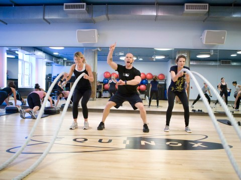 Do you think you could make it through Whipped, Equinox's HIIT class?