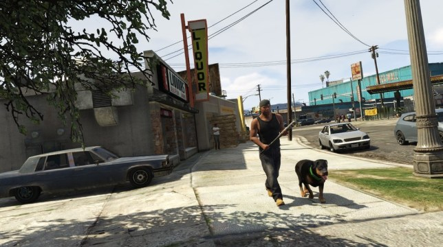 GTA 5 recently launched its online environment (Picture: Rockstar)