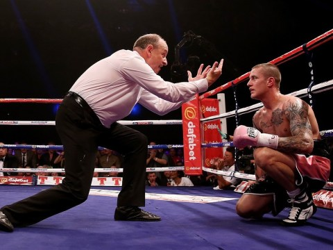 Eddie Hearn fears for Ricky Burns' future after jaw surgery