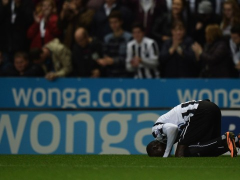 Left-field selection Sammy Ameobi helps Papiss Cisse break his Newcastle scoring duck