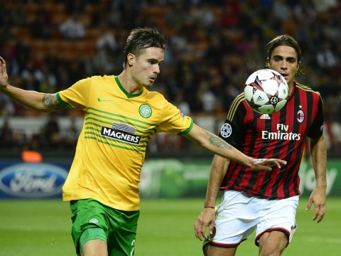 Celtic caught out by two late goals as AC Milan claim Champions League victory