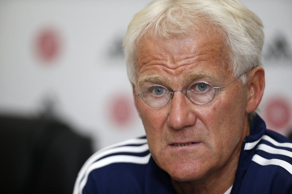 Denmark coach Morten Olsen issues apology after comparing Armenia defeat to 9/11