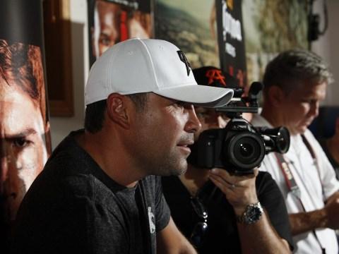Oscar de la Hoya misses Floyd Mayweather/Saul Alvarez showdown to go into rehab