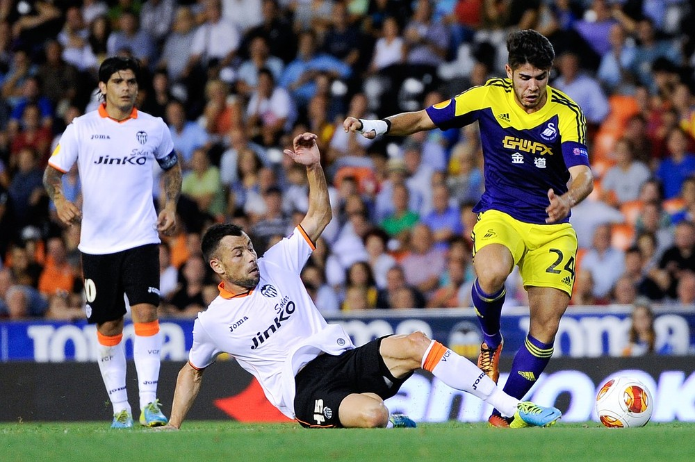 Euro glory For Swansea as they beat Valencia