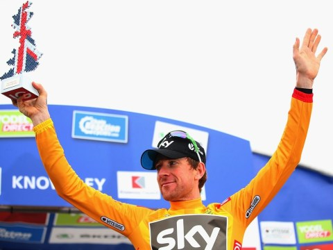 Sir Bradley Wiggins races into Tour of Britain lead after winning time trial in Knowsley Safari Park