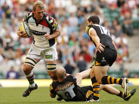 Harlequins must raise their game after narrow Wasps win, says Chris Robshaw