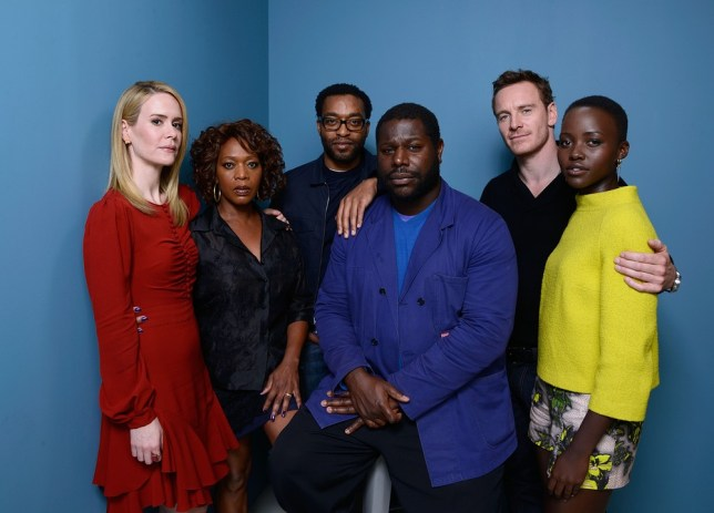 The stars of 12 Years A Slave pose at Toronto International Film Festival (Picture: Getty)