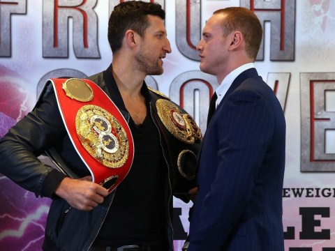 Carl Froch tells George Groves he is the main draw for their November 23 showdown
