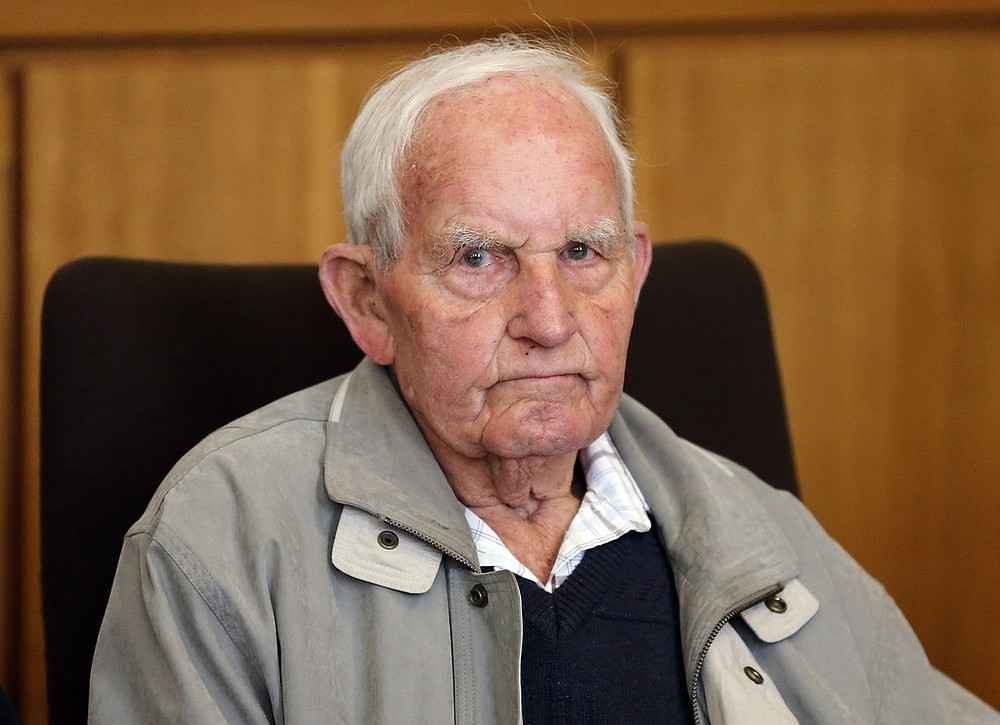 Former member of the Nazi Waffen SS on trial for murder of Dutch resistance fighter