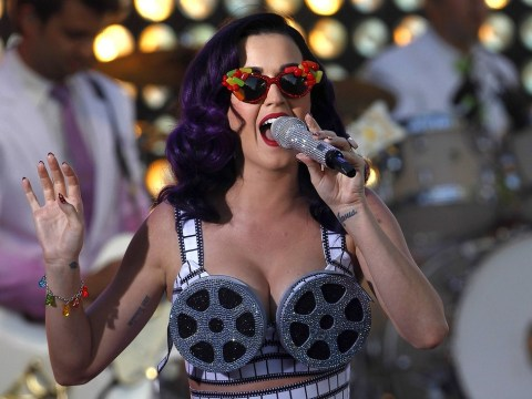 Katy Perry unveils new track Dark Horse from Prism album