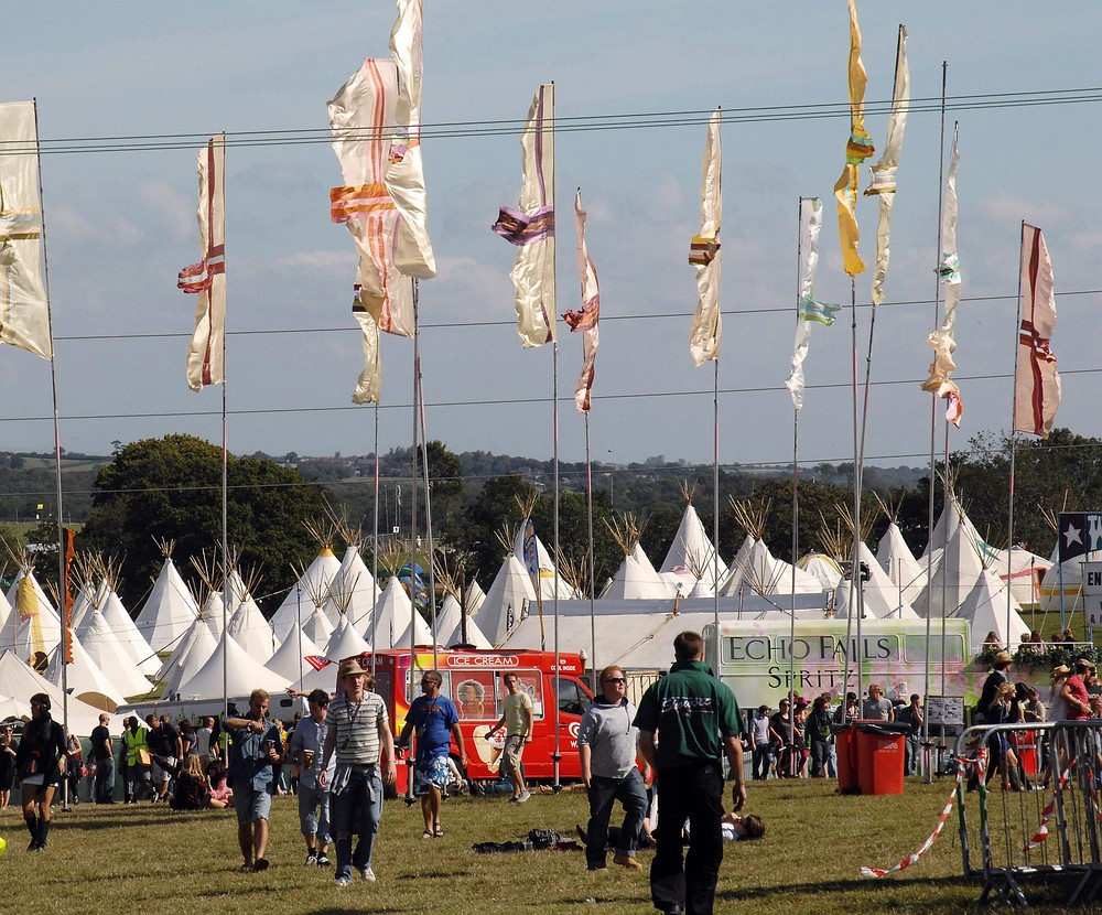 Bestival 2013 braced for a weekend of wet weather