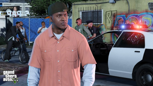 Grand Theft Auto V - is it possible to get too excited?