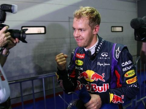 Sebastian Vettel praises his car after taking crucial pole at Singapore Grand Prix