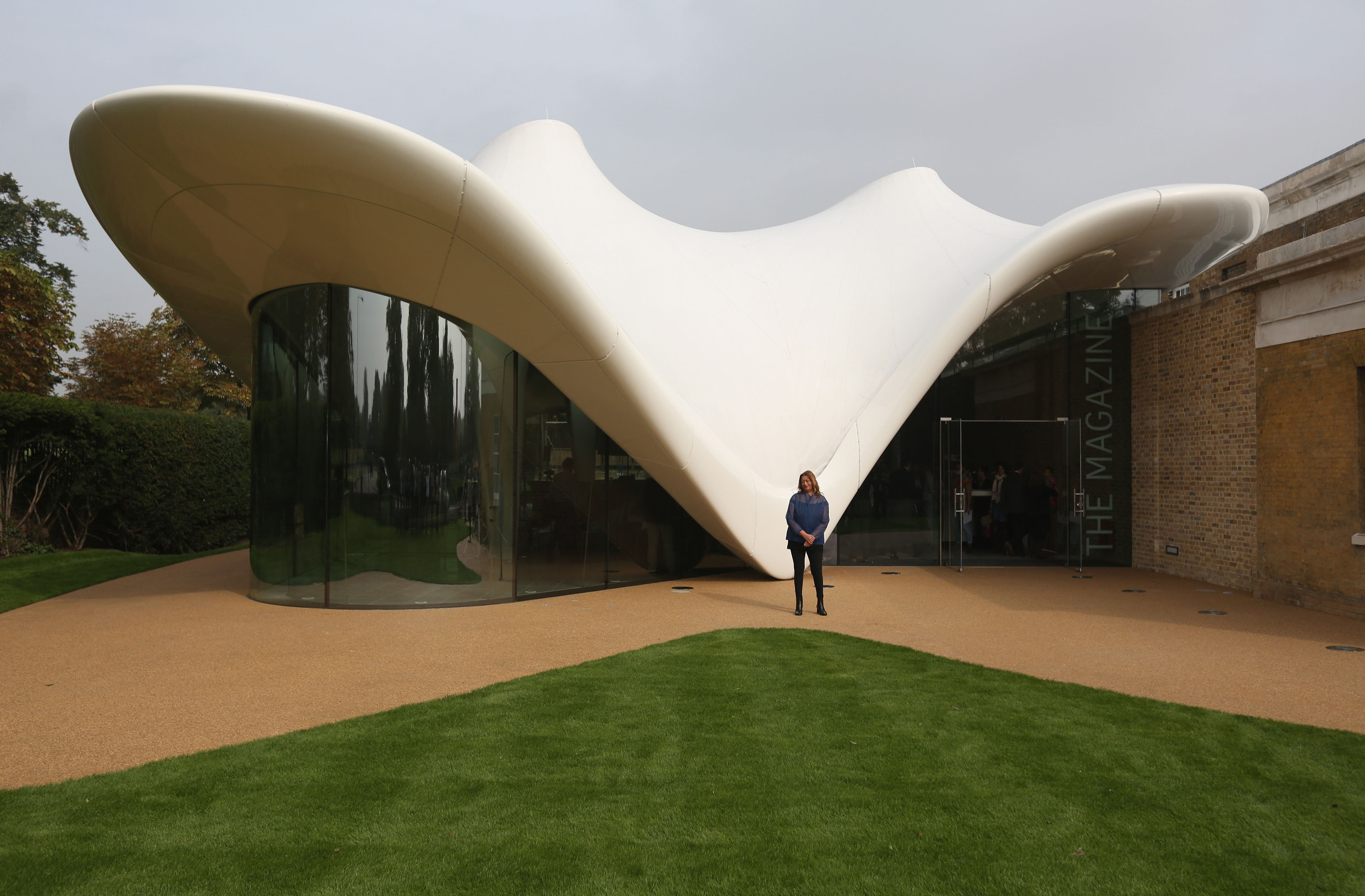 Gallery: Opening of the new Serpentine Sackler Gallery designed by Zaha Hadid