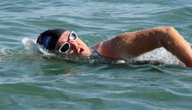 Anna Wardley, Isle of Wight swim
