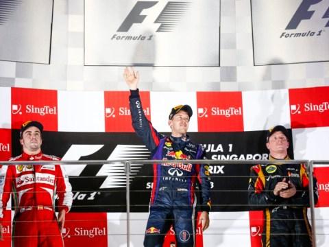 Gallery: Sebastian Vettel wins the Singapore Grand Prix
