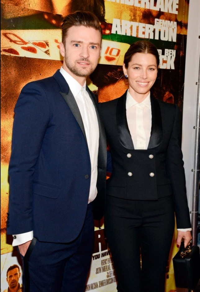Mandatory Credit: Photo by REX (3029471a)  Justin Timberlake and Jessica Biel  'Runner Runner' film premiere at Planet Hollywood, Las Vegas, America - 18 Sep 2013