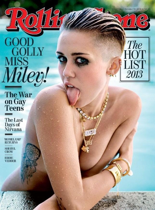 magazin miley cyrus geleckt nackt