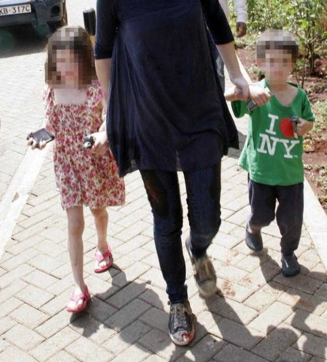 British boy, 4, tells Nairobi shopping mall terrorist: 'You're a very bad man'