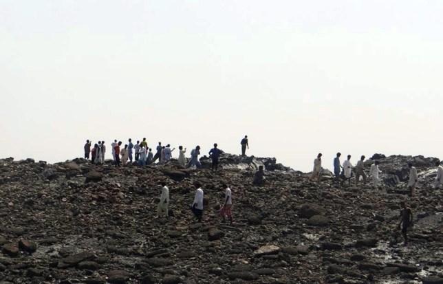 Pakistan earthquake creates new island in Arabian Sea as death toll rises