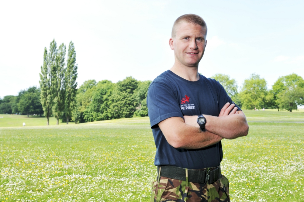Richard Smith of British Military Fitness (Picture: supplied)