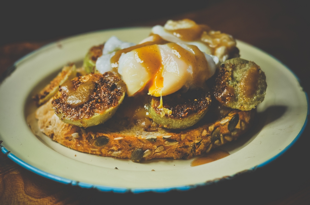 Green tomato recipes: Fried green tomatoes and sherry ketchup