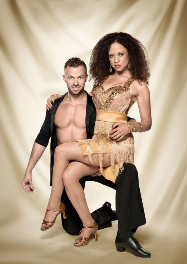 Strictly Come Dancing Natalie Gumede Artem Chigvintsev