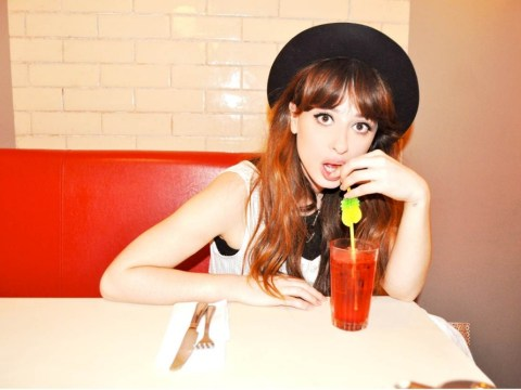 Foxes: I get hunted down as Zooey Deschanel