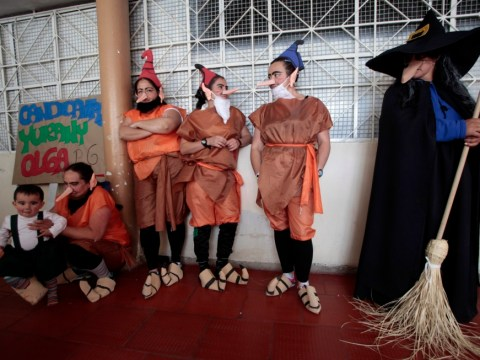 Gallery: Prisoners celebrate La Virgen de las Mercedes in Bogota