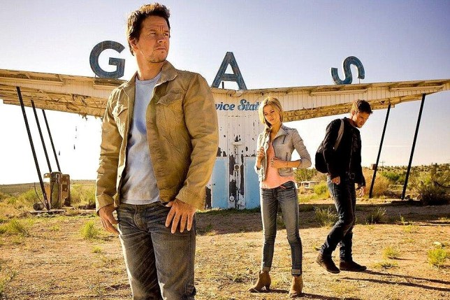 Mark Wahlberg takes the lead in the first cast picture from Transformers: Age of Extinction (Picture: Twitter/Michael Bay Dot Com)