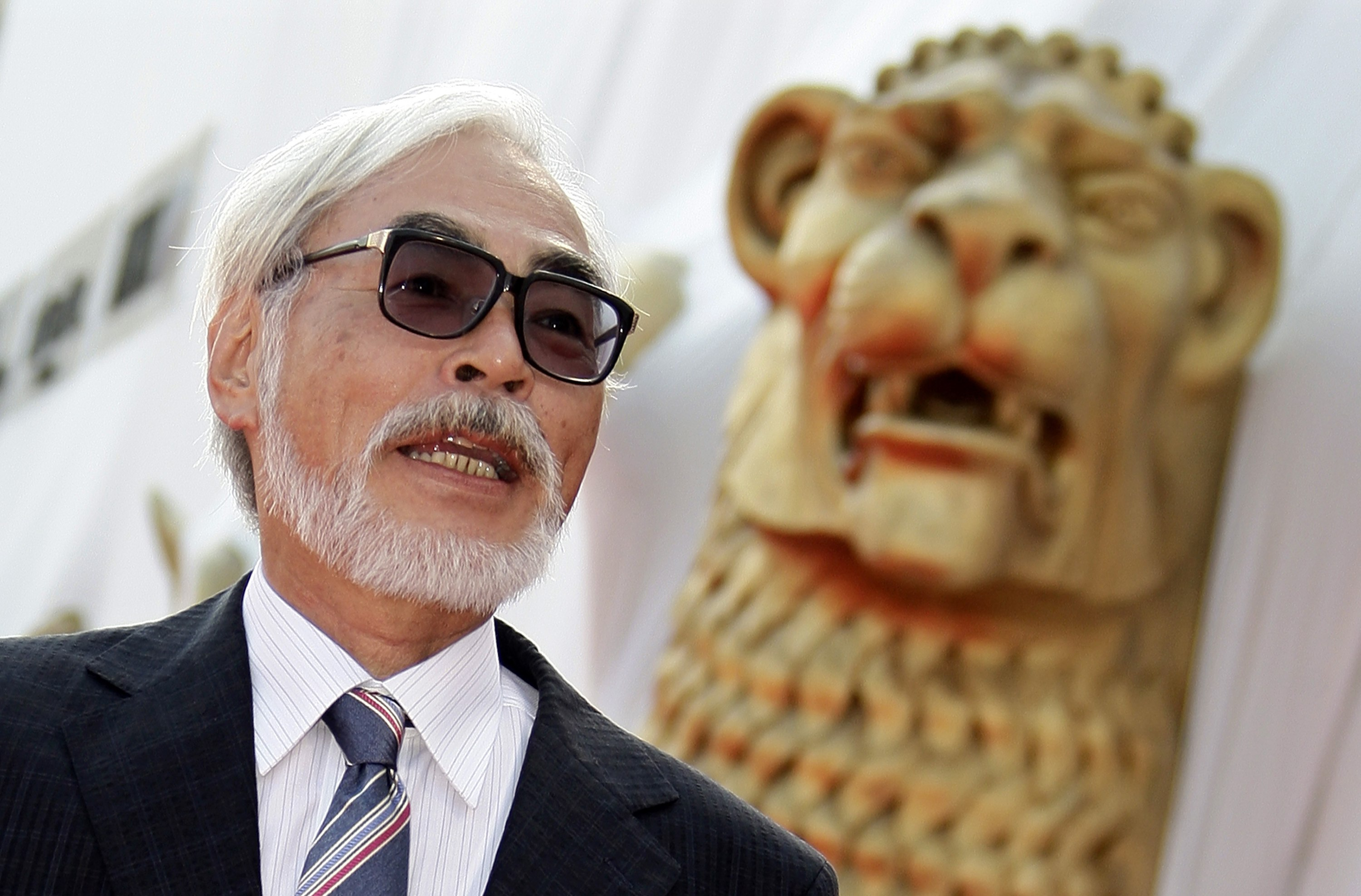 Hayao Miyazaki has announced his retirement (Picture: Reuters)