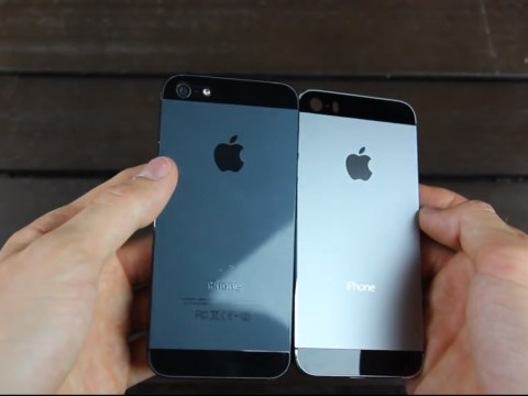 Apple's new iPhone 5S set to come in graphite as well as champagne