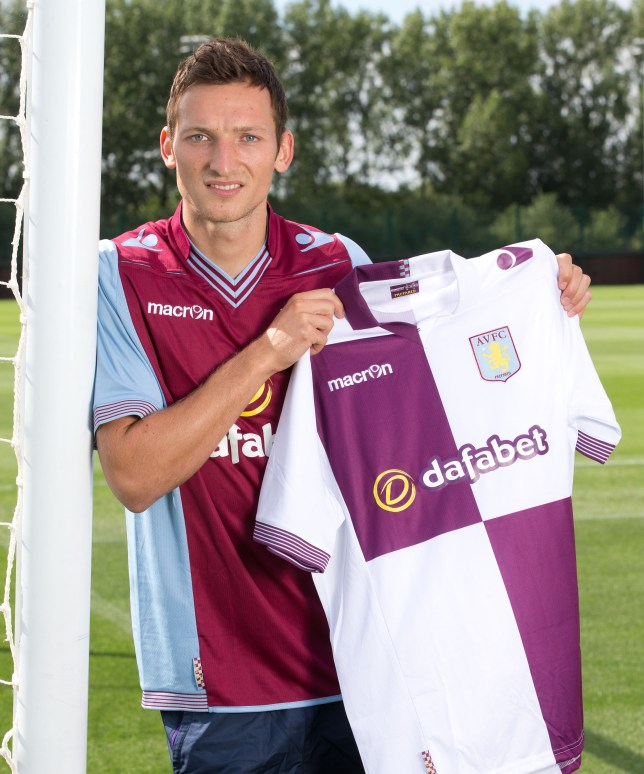 Libor Kozak is Aston Villa's seventh summer signing (Picture: Getty)