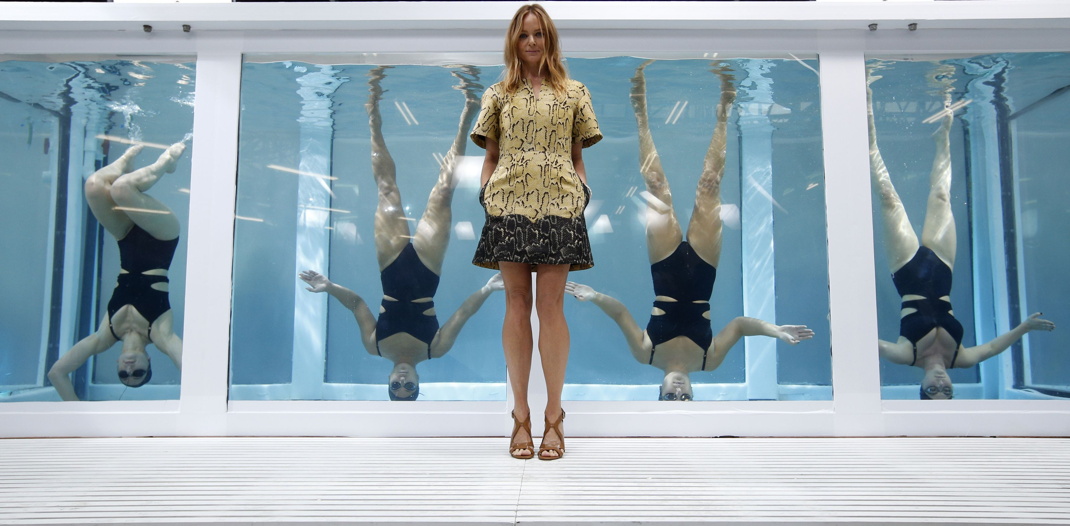 Gallery: Stella McCartney showcases her Adidas collection at London Fashion Week 2013