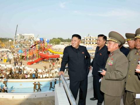 Gallery: Kim Jong-un inspects Munsu water park complex