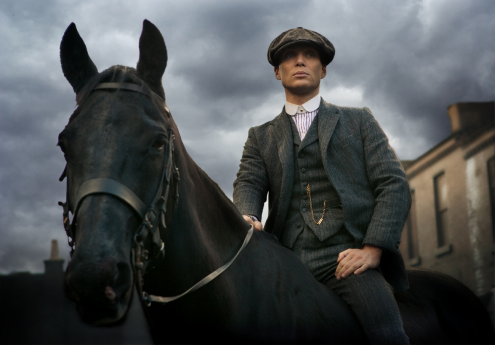 Cillian Murphy makes his small-screen debut in BBC2's Peaky Blinders (Picture: BBC)