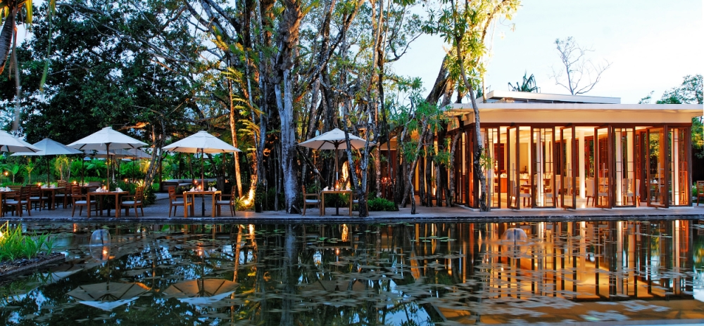 Dine in style at Sarojin's Ficus Restaurant (Picture: supplied)