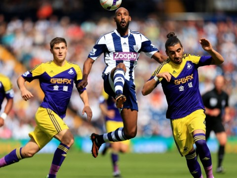 Troubled Nicolas Anelka returns but West Brom slump to defeat to Swansea