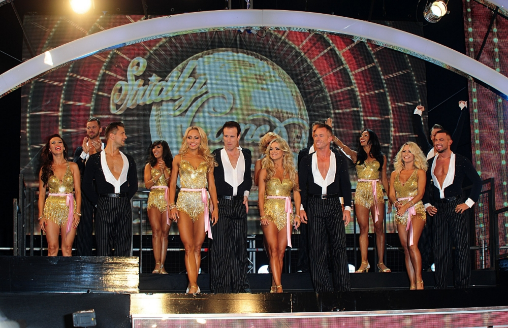 The Professional dancers arriving for the Strictly Come Dancing Photocall at Elstree Studios, London. PRESS ASSOCIATION Photo. Picture date: Tuesday September 3, 2013. Photo credit should read: Ian West/PA Wire